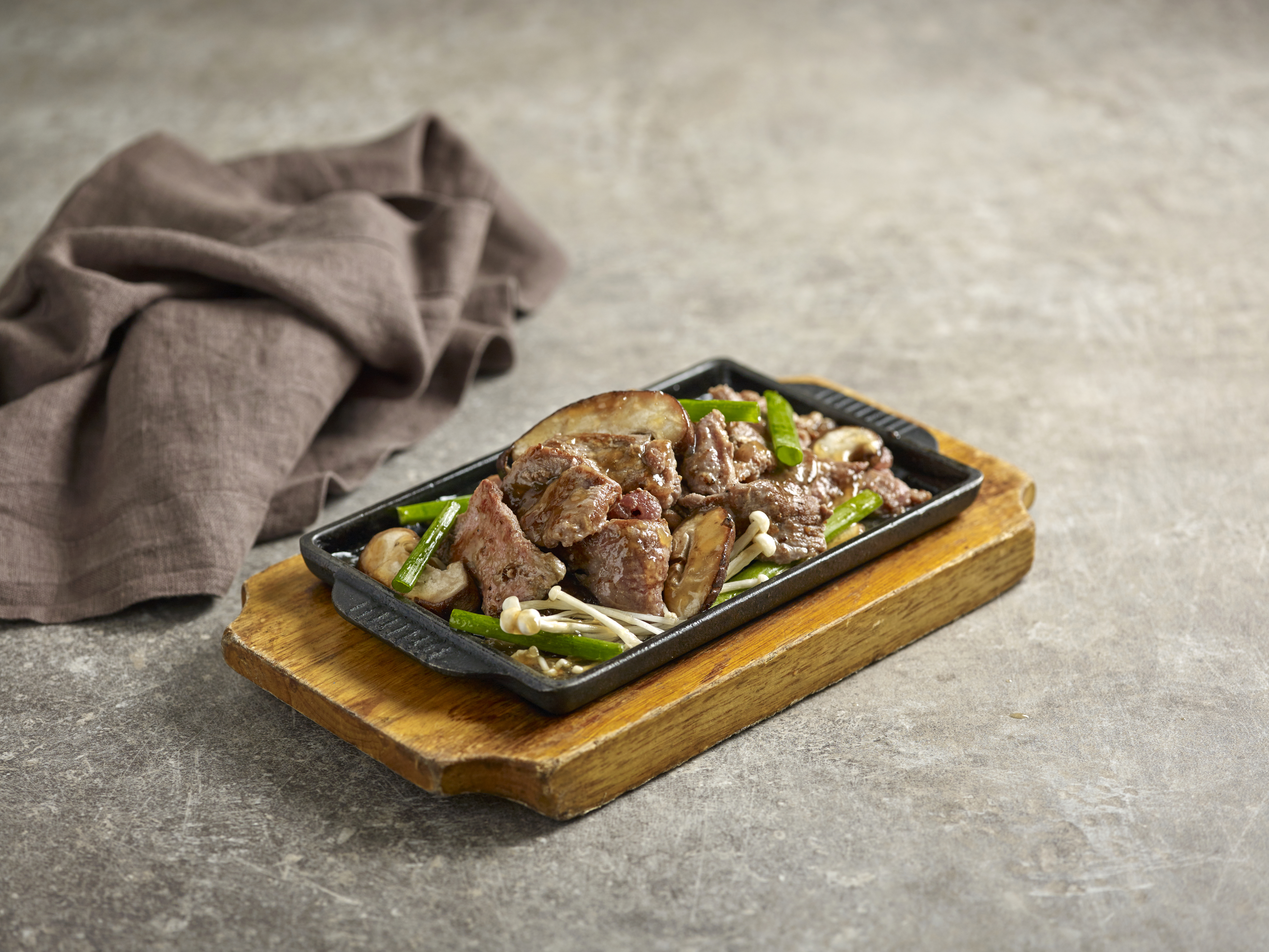 Beef Hot Plate