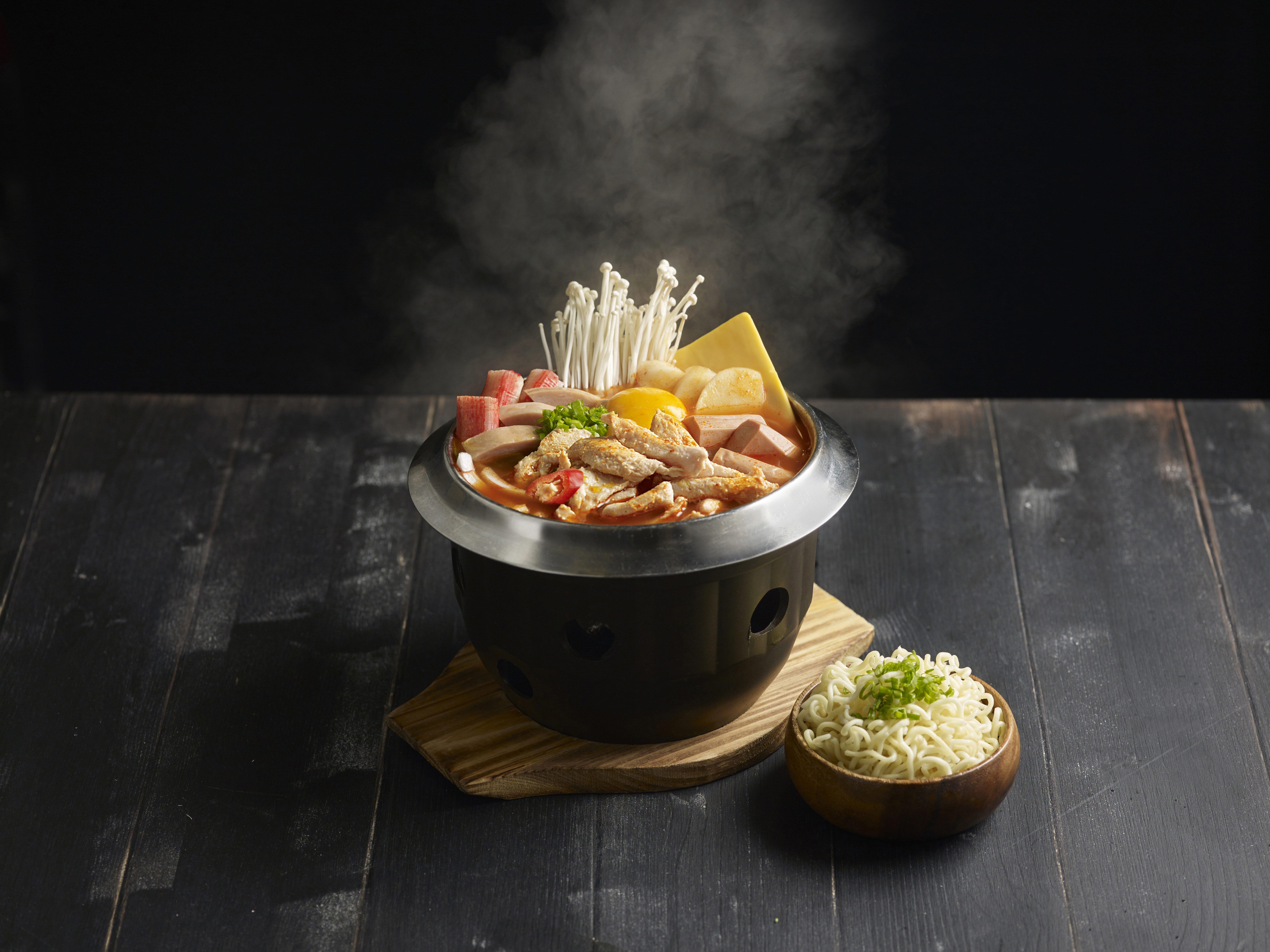 Chicken Army Stew Hot Pot