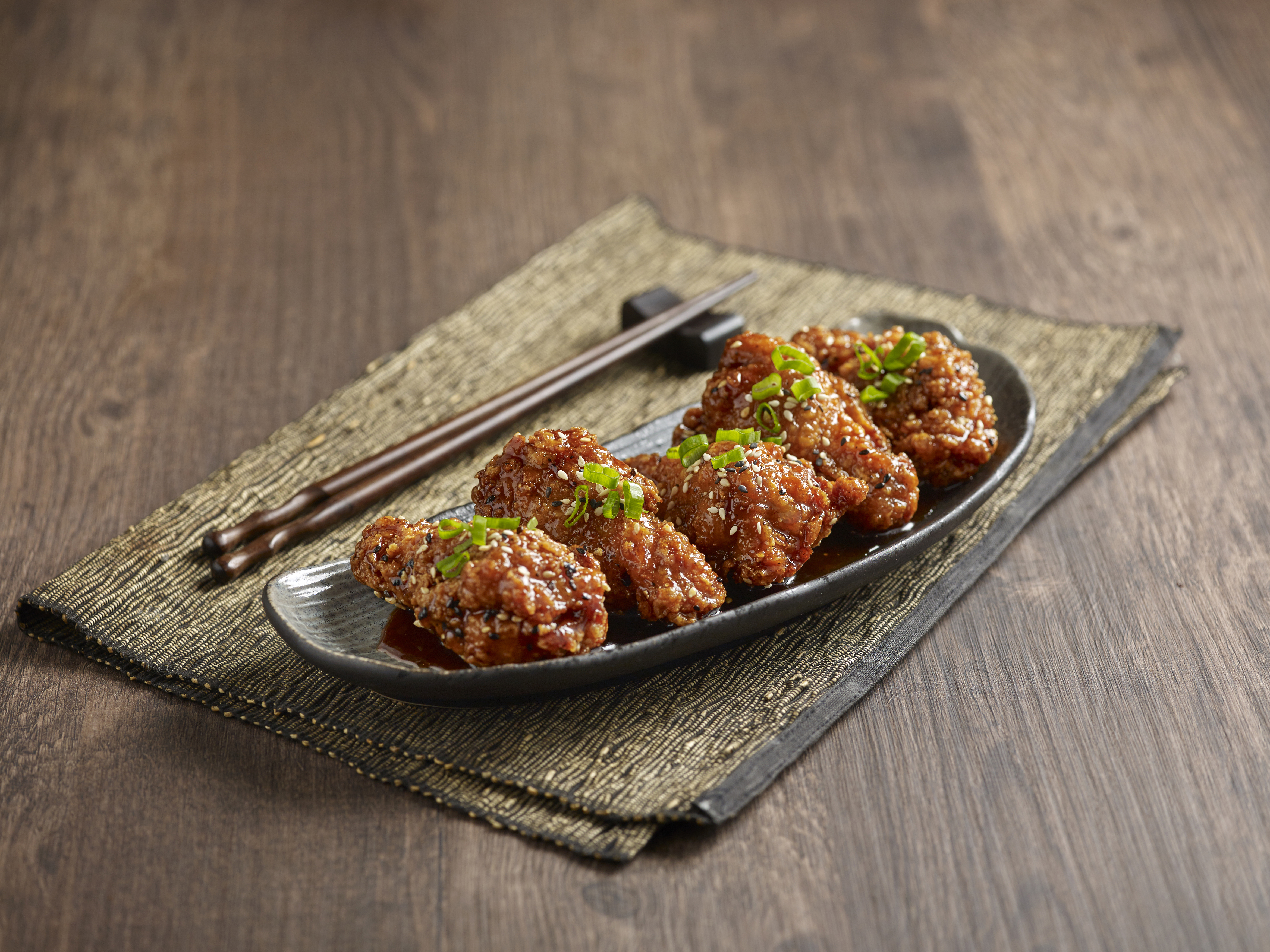 Korean Soy Wing Sticks (Less Spicy)