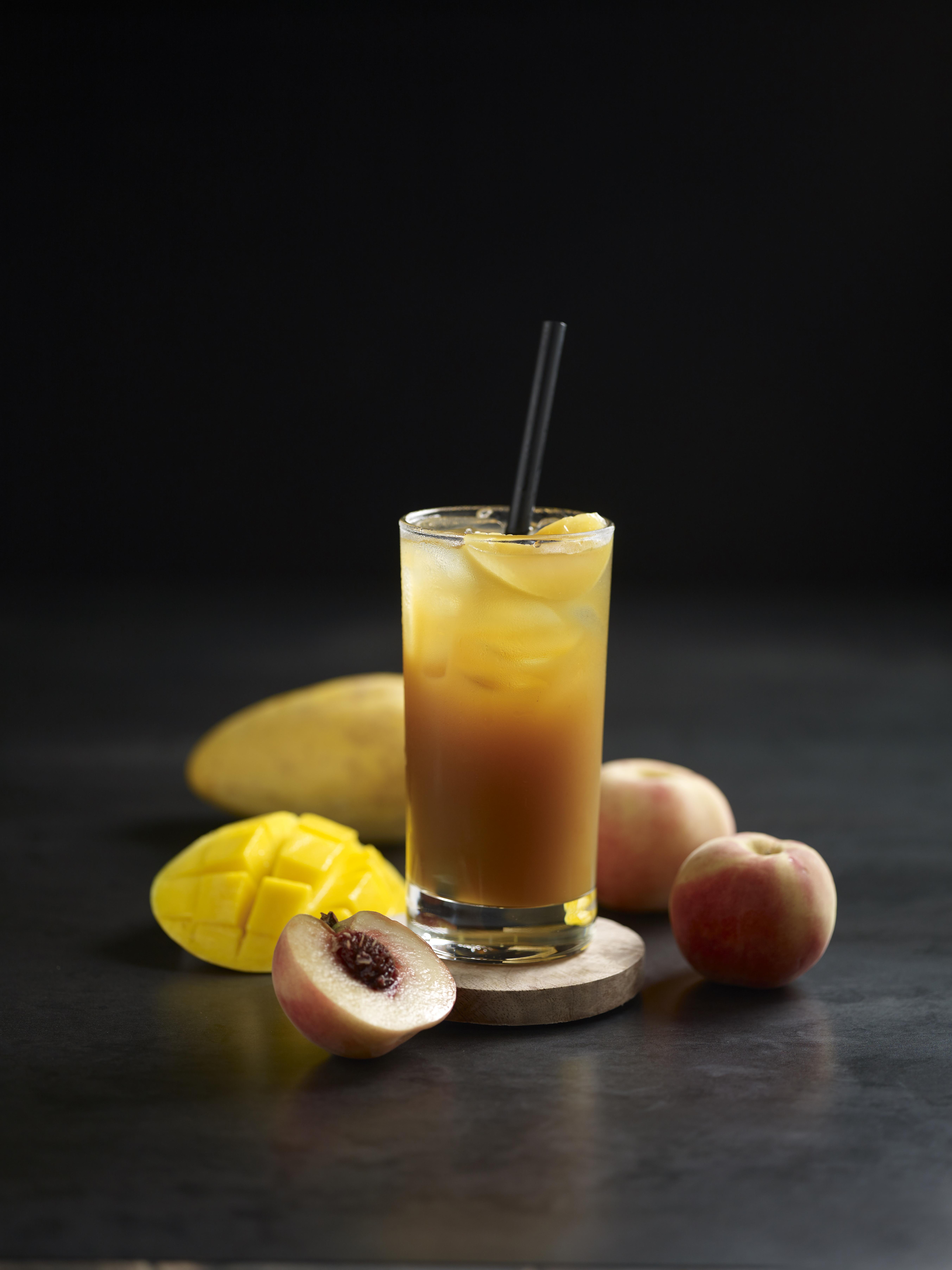 Peach & Mango Tea (Cold)